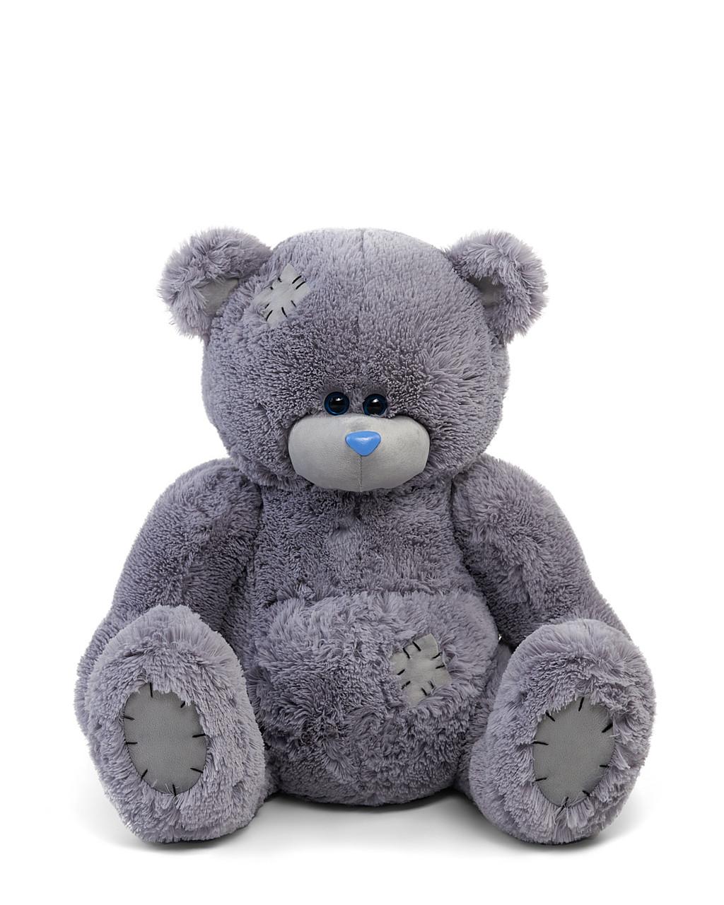 Мягкие игрушки мишка Тедди 110 см цвет серый   Плюшевые медведи   Плюшевый мишка от производителя