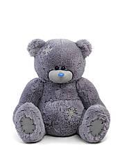 Мягкие игрушки мишка Тедди 110 см цвет серый | Плюшевые медведи | Плюшевый мишка от производителя