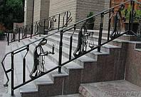 Кованые перила поручни и ограждения для лестниц