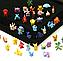 Набор фигурок Покемон 144 шт из Аниме комиксов, игры Pokemon GO: Пикачу, Иви, Мьюту, Бульбазавр, 2-3см, фото 2