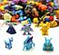 Набор фигурок Покемон 144 шт из Аниме комиксов, игры Pokemon GO: Пикачу, Иви, Мьюту, Бульбазавр, 2-3см, фото 3