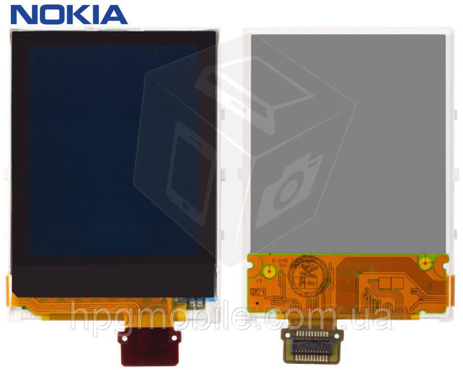Дисплей (экран, матрица) для Nokia 6060, 6101, 6125, 7360, 6103, 6151, 6085, 6070