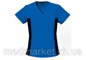 Женская медицинская футболка с V-образным вырезом 2874 RYLB