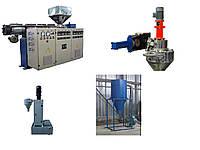 Двухстадийная линия грануляции полимера (производительность 150 кг/ч)
