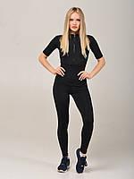 Фитнес одежда для женщин, комбинезон женский для тренировок NV Chausie черный