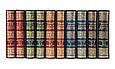 """""""Новий енциклопедичний словник образотворчого мистецтва"""" подарункове видання 10 томів в шкіряній палітурці, фото 4"""