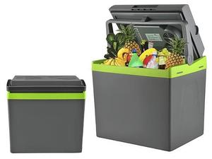 Переносной автомобильный холодильник с подогревом 28л