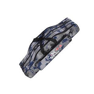 Чехол сумка для удочек удилищ 80см, 3 секции, полужесткий