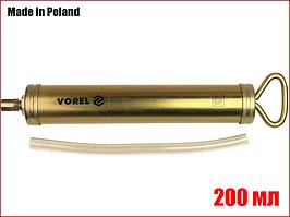 Ручной шприц для смазки 200 мл Vorel 78030