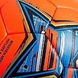 Мяч футбольный №5 PU ламин. CORE HI VIS1000 CR-019 (№5, 4 сл., сшит вручную, красный), фото 3