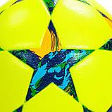 Мяч футбольный №5 PVC Клееный CHAMPIONS LEAGUE FB-5353, №5, 5 сл. цвета в ассорт., Оранжевый, фото 7