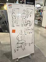 Доска магнитно-маркерная двухсторонняя Magnetoplan Design-Thinking 900 x 1780 мм