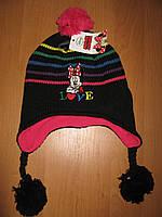 Детская шапка осень-зима Минни маус Sun City р. 54