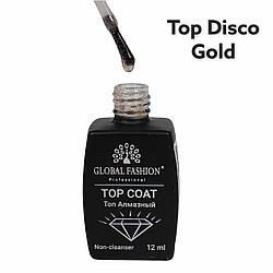 Топ Алмазный Disco Gold Global Fashion, 12 мл
