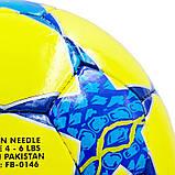 М'яч футбольний №4 PU ламін. CHAMPIONS LEAGUE FINAL MADRID 2019 FB-0146 (№4, 5 сл., Зшитий вручну), фото 3
