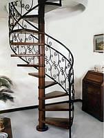 Перила металлические для лестниц