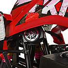 Дитячий квадроцикл HB-EATV1500Q2-3(MP3), мотор-диференціал 1500W, 5аккум 12V, SD, кольоровий дисплей, фото 7