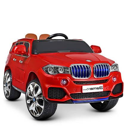 Детский электромобиль Машина M 2762 (MP4) EBLR-3 с колесами Eva,открывающимся дверями, 35W, и 2 моторами, USB