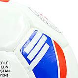 Мяч футбольный №5 PU ламин. BALLONSTAR (№5, 5 сл.) цвета в ассортименте, фото 3