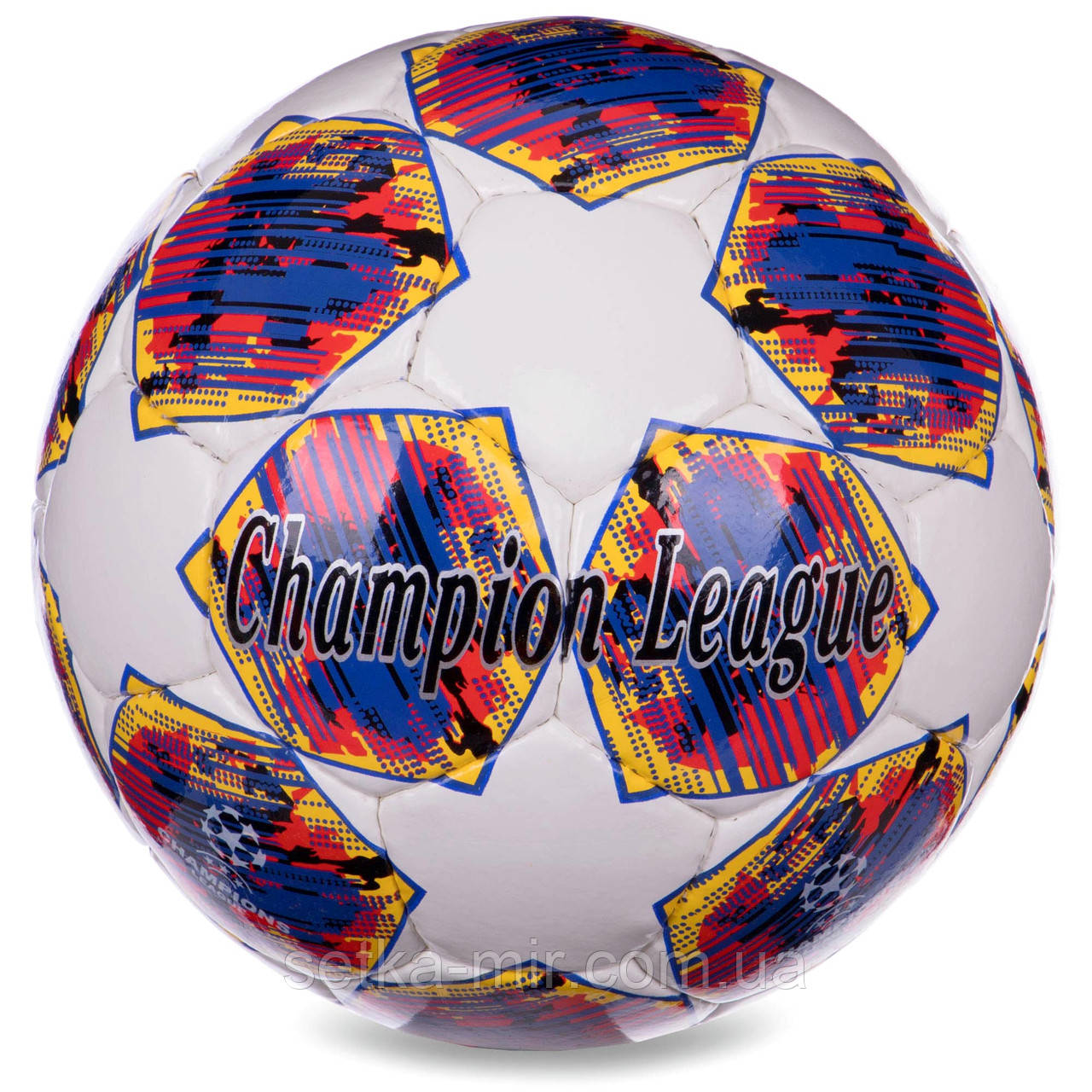 М'яч футбольний №5 PU ламін. CHAMPIONS LEAGUE FINAL MADRID (№5, 5 сл., Зшитий вручну)