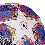 М'яч футбольний №5 PU ламін. CHAMPIONS LEAGUE FINAL MADRID (№5, 5 сл., Зшитий вручну), фото 3