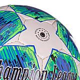 М'яч футбольний №5 PU ламін. CHAMPIONS LEAGUE FINAL MADRID (№5, 5 сл., Зшитий вручну), фото 9