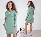 "Спортивное платье с капюшоном и карманами ""Lazio""| Норма, фото 8"