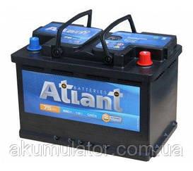 Аккумулятор автомобильный  ATLANT  75-0 (R+) (680A) Белорусь