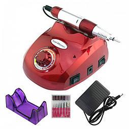Фрезер для маникюра и педикюра Drill Pro ZS-603 (Красный) 45000 оборотов 65 Вт
