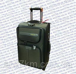 Малый дорожный чемодан на трёх колёсах