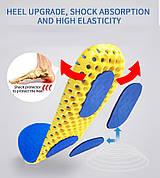 Ортопедические стельки с эффектом памяти для обуви сетчатые
