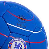 Мяч футбольный №5 Гриппи 5сл. CHELSEA FB-0611 (№5, 5 сл., сшит вручную), фото 3