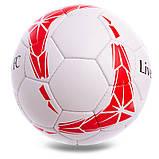 Мяч футбольный №5 Гриппи 5сл. LIVERPOOL FB-0615 (№5, 5 сл., сшит вручную), фото 2