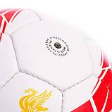 Мяч футбольный №5 Гриппи 5сл. LIVERPOOL FB-0615 (№5, 5 сл., сшит вручную), фото 3