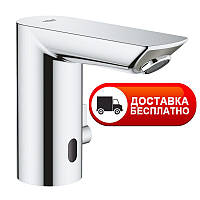 Смеситель бесконтактный для умывальника 6V Grohe EX BauCosmopolitan E 36451000