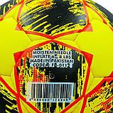 Мяч футбольный №5 Гриппи 5сл. MANCHESTER FB-0112 (№5, 5 сл., сшит вручную), фото 3