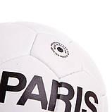 Мяч футбольный №5 Гриппи 5сл. PARIS SAINT-GERMAIN FB-0591 (№5, 5 сл., сшит вручную), фото 3