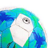 Мяч футбольный №5 Гриппи 5сл. UEFA SUPER CUP 2019 FB-2133 (№5, 5 сл., сшит вручную), фото 3