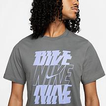Футболка мужская Nike Nsw Tee DB6475-068 Серый, фото 3