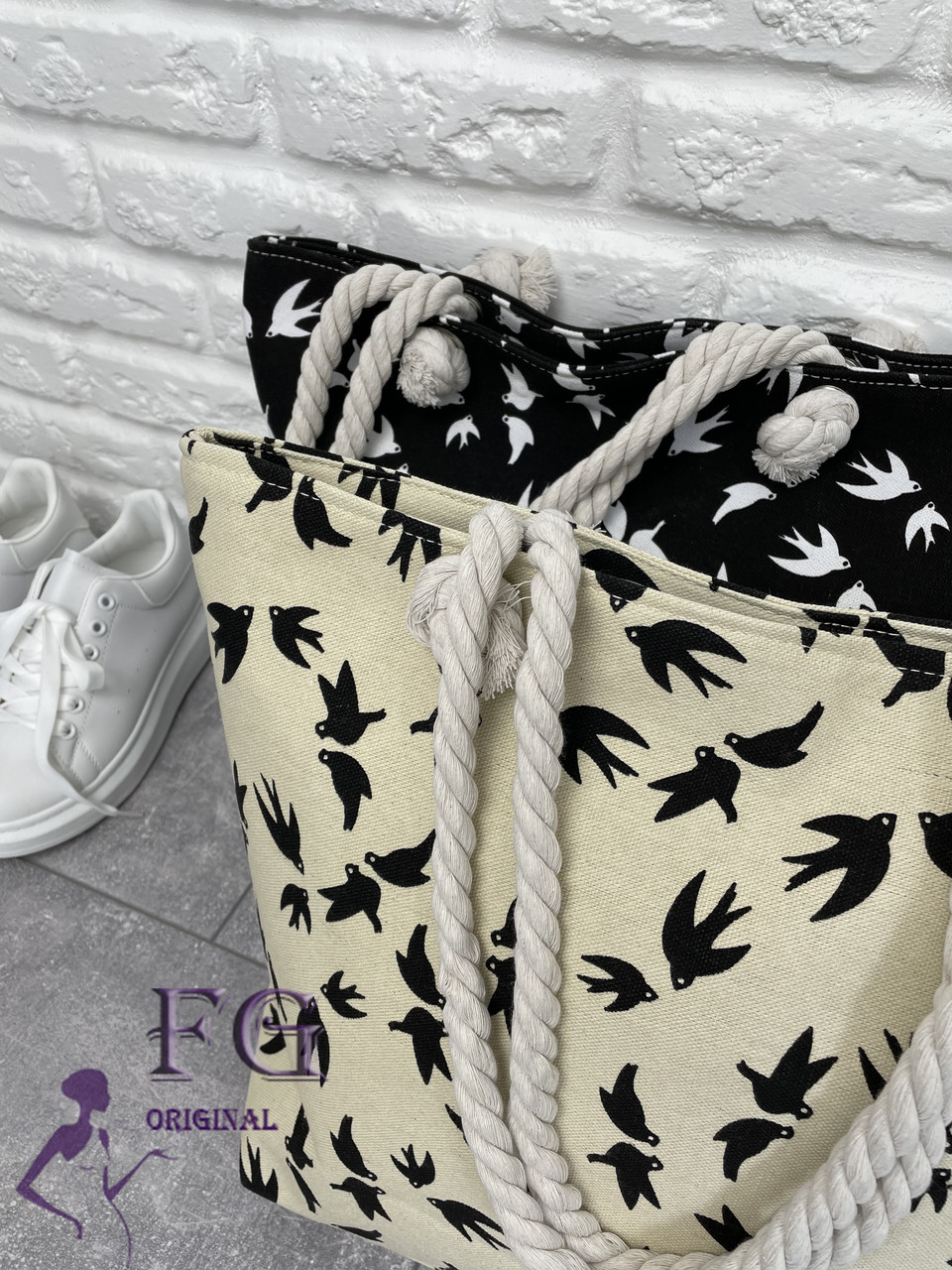 "Пляжна сумка ""Birds"""