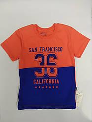 Детская футболка на мальчика San Francisco на рост 116 см