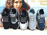 Кросівки чоловічі Adidas Nite Jogger Boost 3M сіро-чорні 41 р., фото 8