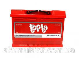 Акумулятор  автомобільний TOPLA Energy  75-0 (R+) (750A)