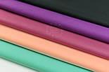 Лоскут сатина ,  цвет тёмно-персиковый, № 2917с, размер 41*80 см, фото 5