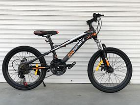 """Гірський Велосипед TopRider 20 дюймів """"611"""" помаранчевий"""