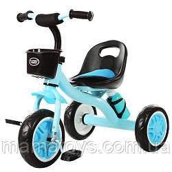 Детский Трехколесный велосипед M 3197-4 Голубой