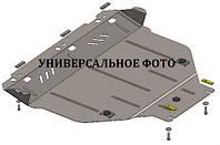 Защита двигателя Субару Форестер 2013 V2.5  сверху пыльника (стальная защита поддона кратера Subaru  Forester)