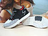 Кроссовки мужские Adidas Nite Jogger Boost 3M серо-черные 46 р., фото 4