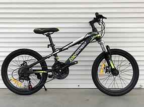 """Гірський Велосипед TopRider 20 дюймів """"611"""" салатовий"""