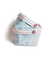 Короб текстильный для хранения Квіти Тіфані